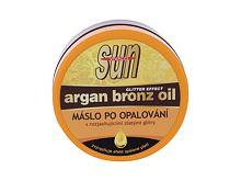 Přípravek po opalování Vivaco Sun Argan Bronz Oil Aftersun Butter 200 ml