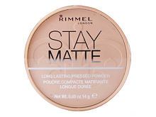 Pudr Rimmel London Stay Matte 14 g 004 Sandstorm