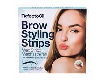 Depilační přípravek RefectoCil Brow Styling Strips 20 ks