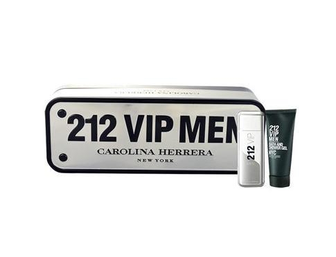 Carolina Herrera 212 VIP Men EDT dárková sada pro muže - EDT 50 ml + sprchový gel 100 ml