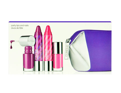 Rtěnka Clinique Chubby Stick Party Lips And Nails 1,2 g 15 Pudgy Peony Kazeta