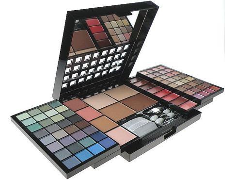 Makeup Trading 80 Favourite Colours dekorativní kazeta dárková sada pro ženy - Complete Makeup Palette
