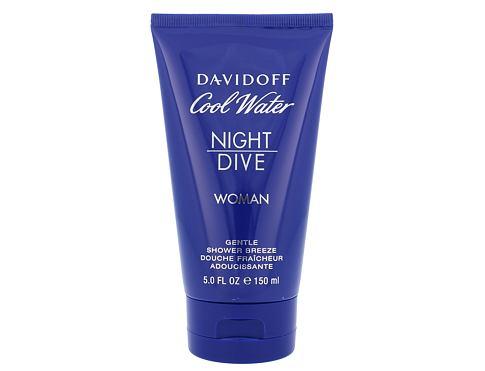 Davidoff Cool Water Night Dive Woman 150 ml sprchový gel pro ženy