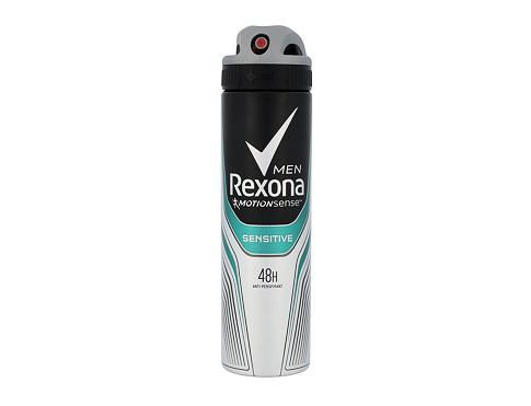 Rexona Men Sensitive 48H 150 ml antiperspirant Deospray pro muže