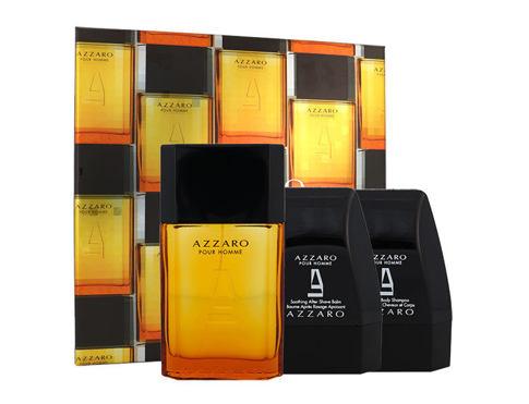 Azzaro Azzaro Pour Homme EDT dárková sada pro muže - EDT 100 ml + sprchový gel 75 ml + balzám po holení 75 ml