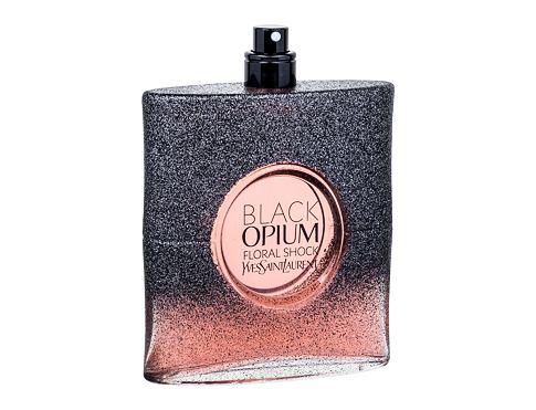 Yves Saint Laurent Black Opium Floral Shock 90 ml EDP Tester pro ženy