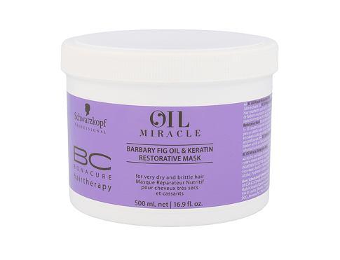 Schwarzkopf BC Bonacure Oil Miracle Barbary Fig & Keratin 500 ml maska na vlasy pro ženy