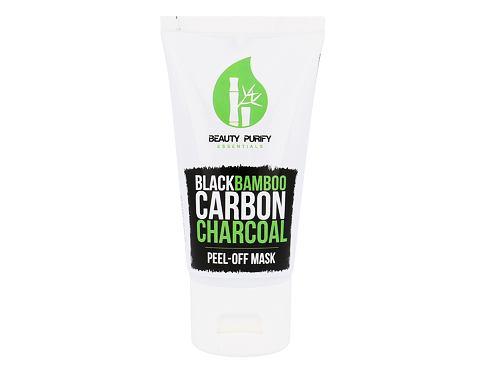 Diet Esthetic Black Bamboo Carbon Charcoal Peel-Off Mask 50 ml pleťová maska pro ženy