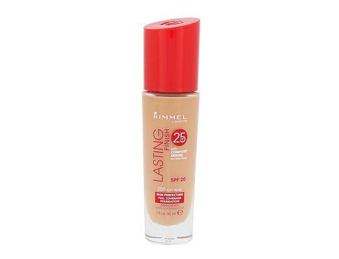 Rimmel London Lasting Finish 25hr SPF20 30 ml makeup 200 Soft Beige pro ženy