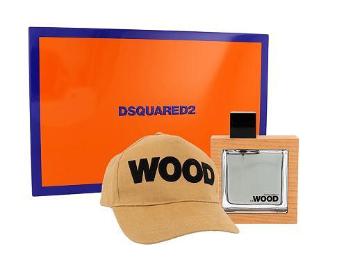 Dsquared2 He Wood EDT dárková sada pro muže - EDT 50 ml + kšiltovka