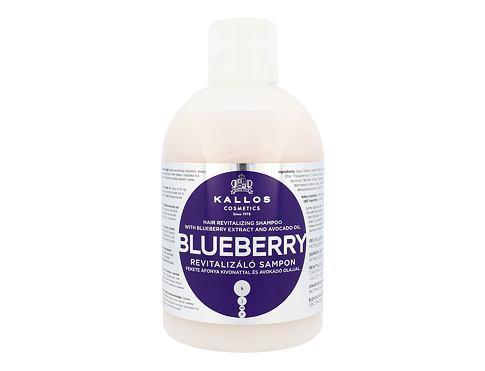 Kallos Cosmetics Blueberry 1000 ml šampon pro ženy