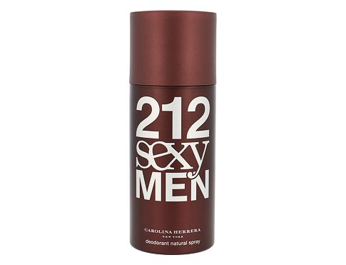 Carolina Herrera 212 Sexy Men 150 deodorant pro muže