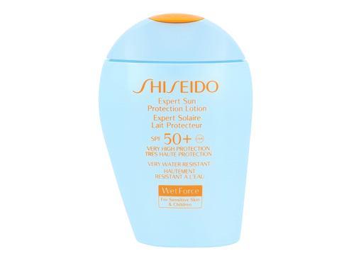 Shiseido Expert Sun Aging Protection Lotion Plus SPF50+ 100 opalovací přípravek na tělo Tester pro ženy