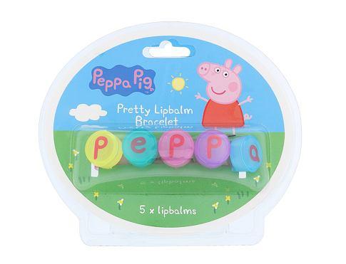 Peppa Pig Peppa Pretty Lipbalm Bracelet 5 g balzám na rty unisex