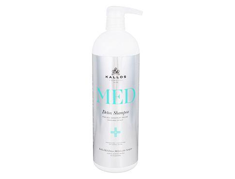 Kallos Cosmetics MED Detox 1000 ml šampon pro ženy