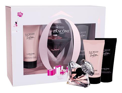 Lancome La Nuit Trésor EDP dárková sada pro ženy - EDP 30 ml + tělové mléko 50 ml + sprchový gel 50 ml
