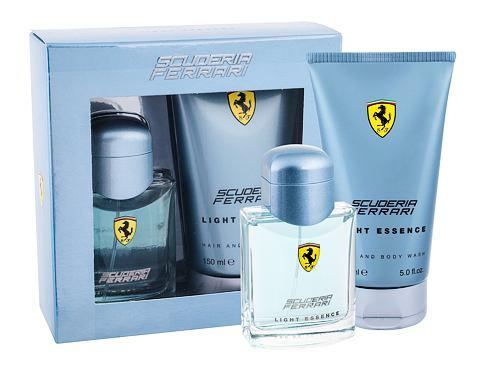 Ferrari Scuderia Ferrari Light Essence EDT dárková sada pro muže - EDT 75 ml + sprchový gel 150 ml