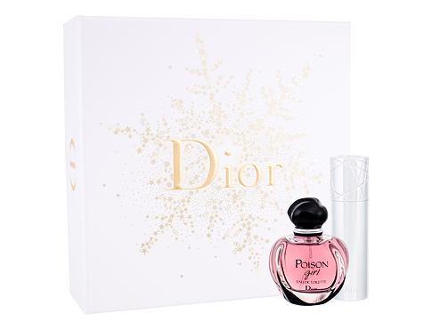 Christian Dior Poison Girl EDT dárková sada pro ženy - EDT 50 ml + EDT 10 ml