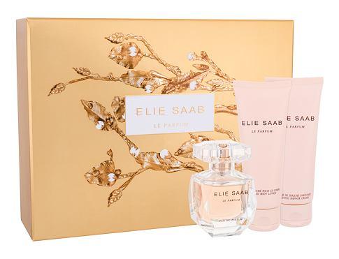 Elie Saab Le Parfum EDP dárková sada pro ženy - EDP 50 ml + tělové mléko 75 ml + sprchový krém 75 ml