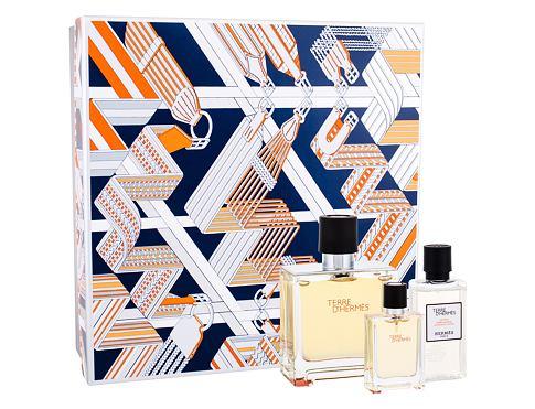 Hermes Terre D´Hermes EDP dárková sada pro muže - parfém 75 ml + voda po holení 40 ml + parfém 12,5 ml