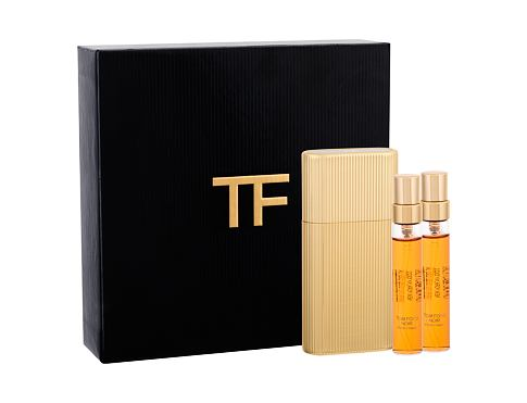 TOM FORD Noir EDP dárková sada pro muže - EDP 5 ml naplnitelná + EDP 2x 5 náplně