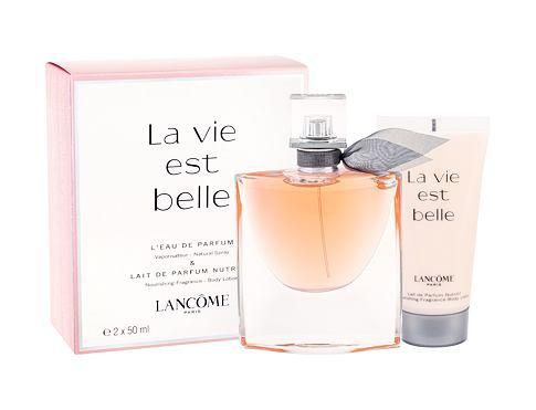 Lancome La Vie Est Belle EDP dárková sada pro ženy - EDP 50 ml + tělové mléko 50 ml