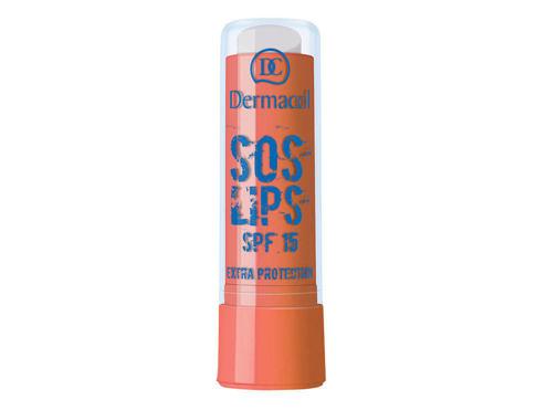 Dermacol SOS Lips Intensive Care Jojoba Oil 3,5 ml balzám na rty Almond pro ženy