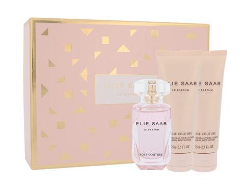 Elie Saab Le Parfum Rose Couture EDT dárková sada pro ženy - EDT 50 ml + tělové mléko 2x75 ml