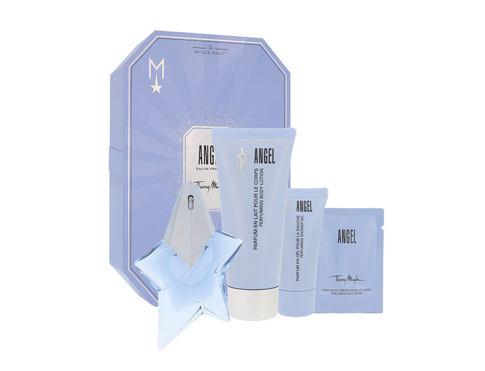 Thierry Mugler Angel EDP dárková sada Naplnitelný pro ženy - EDP 25 ml + tělové mléko 100 ml
