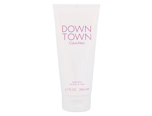 Calvin Klein Downtown 200 ml tělové mléko pro ženy