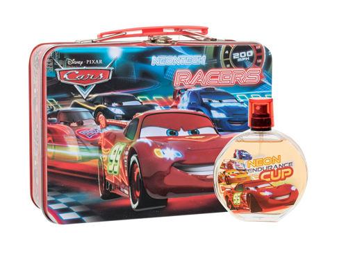 Disney Cars EDT dárková sada unisex - EDT 100 ml + plechová krabička