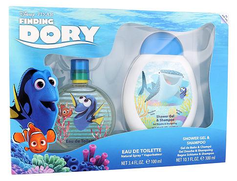 Disney Finding Dory EDT dárková sada unisex - EDT 100 ml + 2v1 sprchový gel & šampon 300 ml