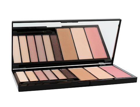 Makeup Revolution London Euphoria Palette Eyeshades & Contouring 18 g dekorativní kazeta Bare pro ženy