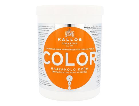 Kallos Cosmetics Color 1000 ml maska na vlasy pro ženy