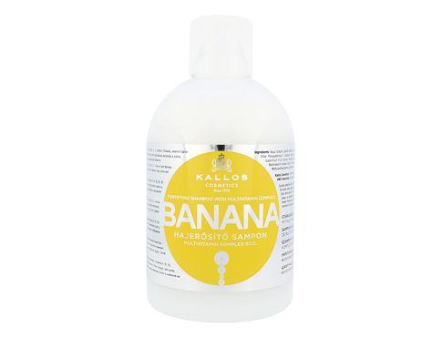 Kallos Cosmetics Banana 1000 ml šampon pro ženy