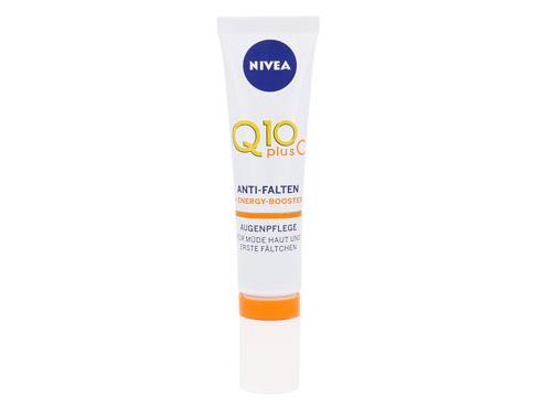 Nivea Q10 Plus C 15 oční krém pro ženy