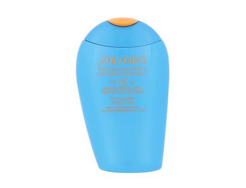 Shiseido 15 Sun Protection Lotion SPF 15 150 opalovací přípravek na tělo voděodolná pro ženy