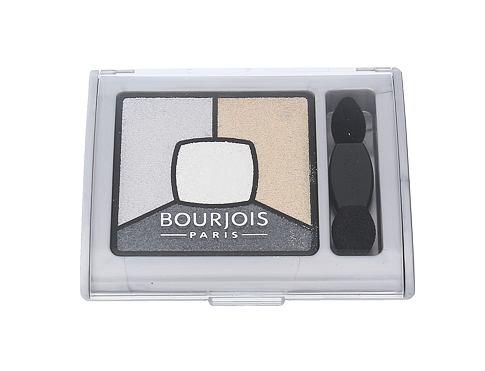 BOURJOIS Paris Smoky Stories Quad Eyeshadow Palette 3,2 g oční stín 09 Grey-zy In Love pro ženy