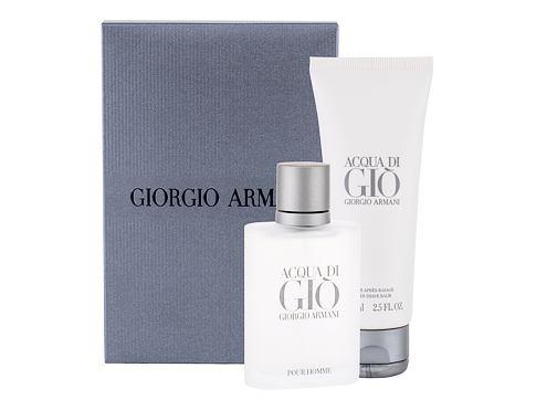 Giorgio Armani Acqua di Gio Pour Homme EDT dárková sada pro muže - EDT 50 ml + balzám po holení
