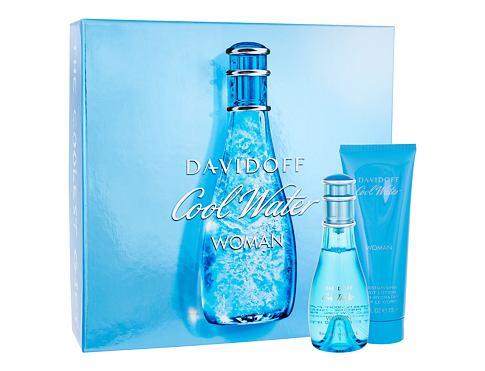 Davidoff Cool Water Woman EDT dárková sada pro ženy - EDT 50 ml + tělové mléko 75 ml
