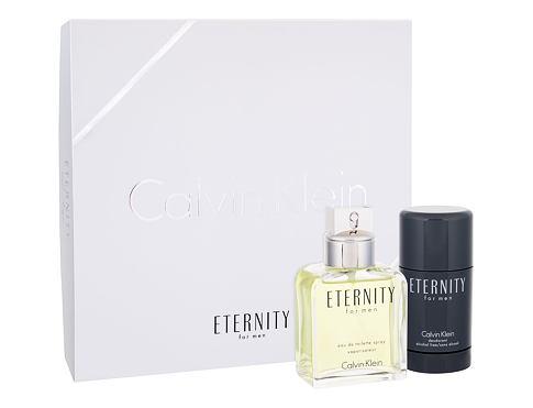 Calvin Klein Eternity For Men EDT dárková sada pro muže - EDT 100 ml + deostick 75 ml