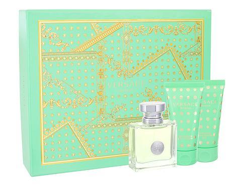 Versace Versense EDT dárková sada pro ženy - EDT 50 ml + tělové mléko 50 ml + sprchový gel 50 ml
