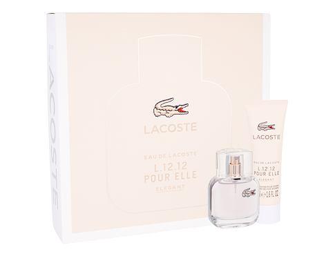 Lacoste Eau De Lacoste L.12.12 Pour Elle Elegant EDT dárková sada pro ženy - EDT 30 ml + sprchový gel 50 ml