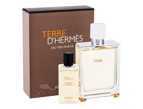 Hermes Terre D´Hermés Eau Tres Fraiche EDT dárková sada pro muže - EDT 75 ml + sprchový gel 40 ml
