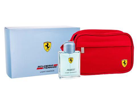 Ferrari Scuderia Ferrari Light Essence EDT dárková sada pro muže - EDT 125 ml + kosmetická taška