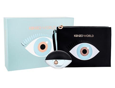 KENZO Kenzo World EDP dárková sada pro ženy - EDP 50 ml + kosmetická taška