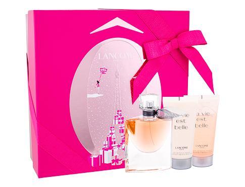 Lancome La Vie Est Belle EDP dárková sada pro ženy - EDP 50 ml + tělové mléko 50 ml + sprchový gel 50 ml