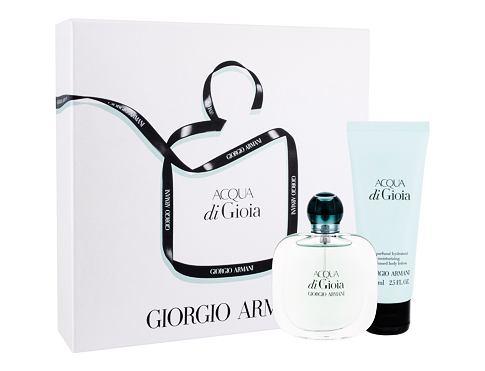Giorgio Armani Acqua di Gioia EDP dárková sada pro ženy - EDP 30 ml + tělové mléko 75 ml