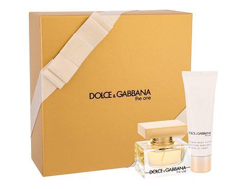 Dolce&Gabbana The One EDP dárková sada pro ženy - EDP 30 ml + tělové mléko 50 ml