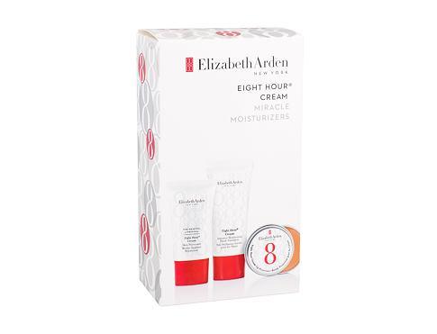 Elizabeth Arden Eight Hour Cream krém na ruce dárková sada pro ženy - krém na ruce 30 ml + ochranná péče 15 ml + balzám na rty 13 ml